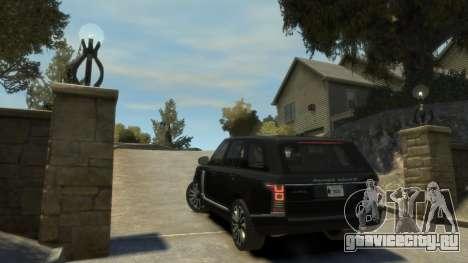 Range Rover Vogue 2014 для GTA 4 вид справа