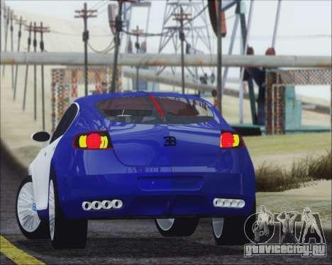 Bugatti Galibier 16c Final для GTA San Andreas вид слева