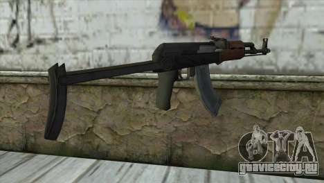 AKM Assault Rifle для GTA San Andreas второй скриншот