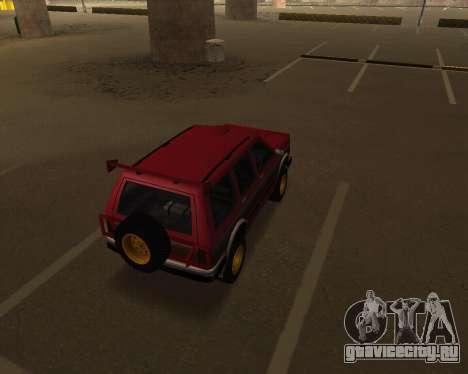 Landstalker V2 для GTA San Andreas вид справа