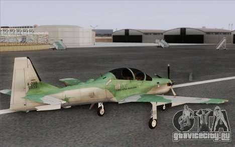 Embraer A-29B Super Tucano для GTA San Andreas вид слева