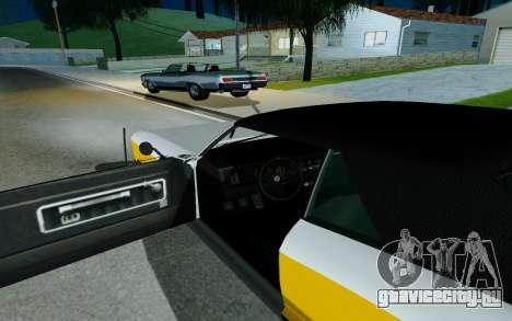 Albany Buccaneer из GTA 5 для GTA San Andreas вид сзади слева