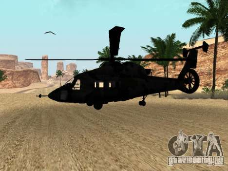 КА-60 для GTA San Andreas вид изнутри