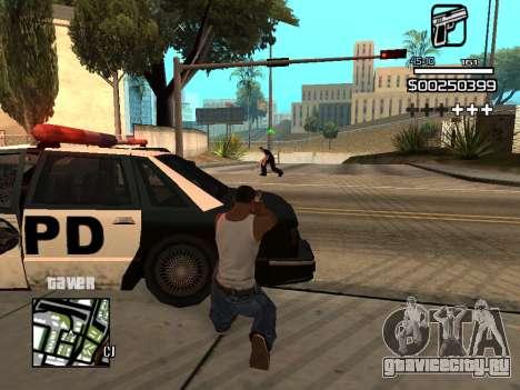 C-HUD By Kapo для GTA San Andreas