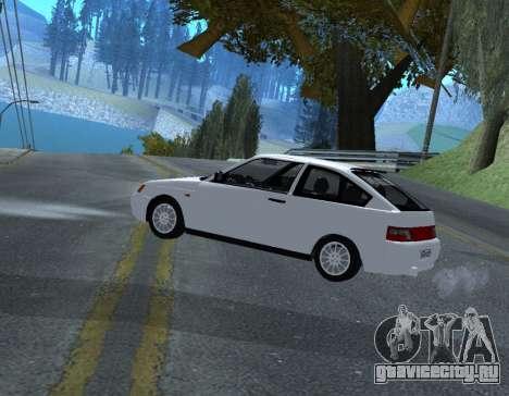 ВАЗ 2112 GVR Version 1.1 для GTA San Andreas вид слева