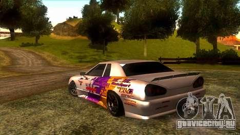 Elegy JIC Magic для GTA San Andreas вид сзади слева
