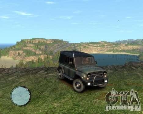 УАЗ-3159 Барс Тентованный для GTA 4
