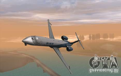 Embraer 145 Xp для GTA San Andreas вид справа
