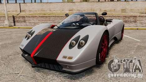Pagani Zonda C12 S Roadster 2001 PJ5 для GTA 4
