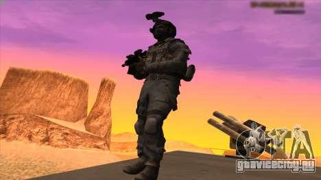 Sgt Keegan P.Russ из Call Of Duty: Ghosts для GTA San Andreas пятый скриншот