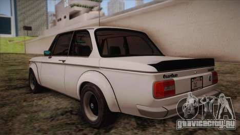 BMW 2002 1973 для GTA San Andreas вид сзади слева