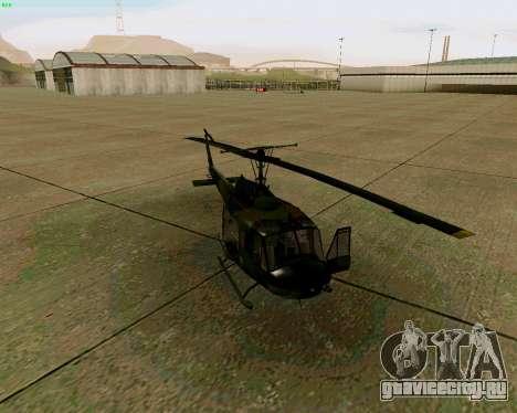 UH-1D Huey для GTA San Andreas