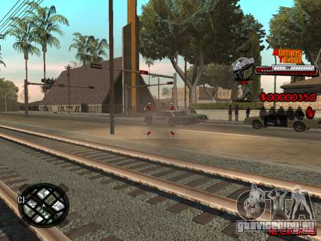 C-HUD Admins Team для GTA San Andreas четвёртый скриншот