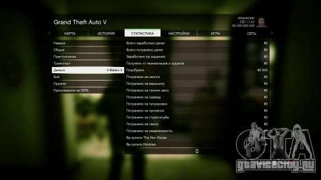 GTA 5 0% и 2 миллиарда + все прокачено для GTA 5 седьмой скриншот