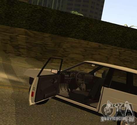 ВАЗ 2108 GVR Version 1.2 для GTA San Andreas вид справа