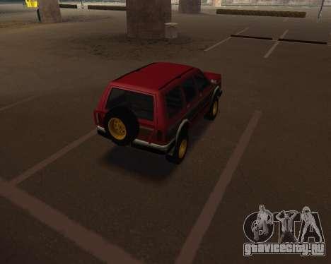 Landstalker V2 для GTA San Andreas вид сзади слева
