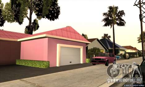 Новый дом Милли для GTA San Andreas второй скриншот