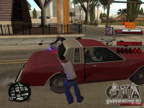 C-HUD Admins Team для GTA San Andreas пятый скриншот
