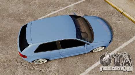 Audi S3 EmreAKIN Edition для GTA 4 вид справа