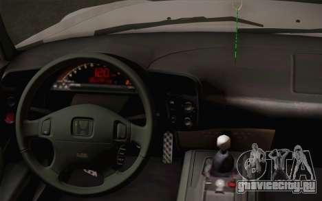 Honda S2000 Edit для GTA San Andreas вид справа