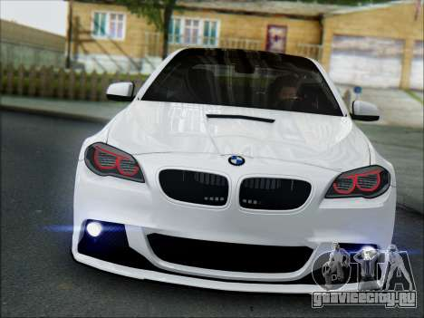 BMW 550 F10 VOSSEN для GTA San Andreas вид слева
