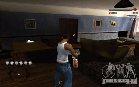 C-HUD by Pro для GTA San Andreas второй скриншот