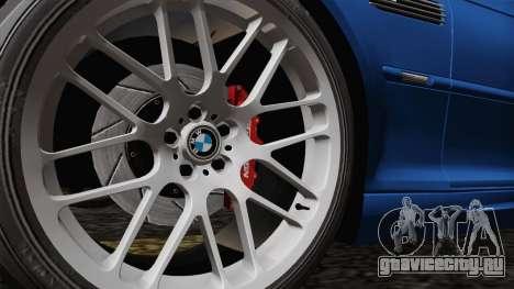 BMW M3 E46 GTR 2005 для GTA San Andreas вид сзади