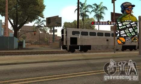 C-HUD Rider для GTA San Andreas