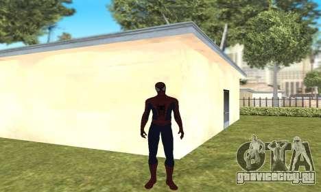 Новый человек-паук для GTA San Andreas второй скриншот