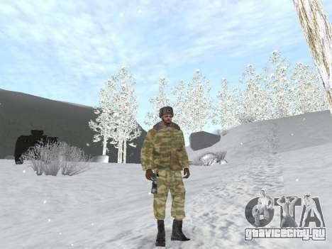 Пак русской армейской одежды для GTA San Andreas пятый скриншот