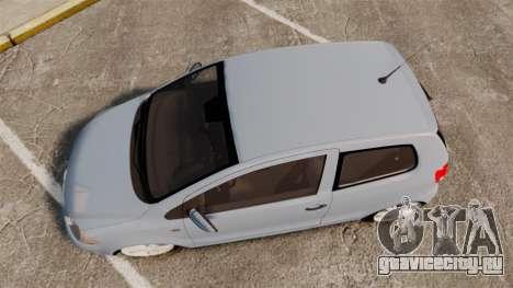Volkswagen Fox для GTA 4 вид справа