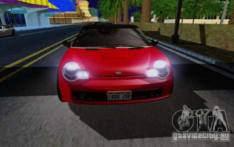 GTA 5 Weeny Issi V1.0 для GTA San Andreas вид слева
