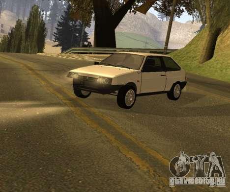 ВАЗ 2108 GVR Version 1.2 для GTA San Andreas