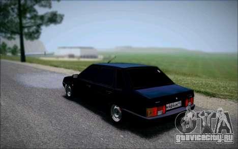 ВАЗ 21099 Бандитка для GTA San Andreas вид слева