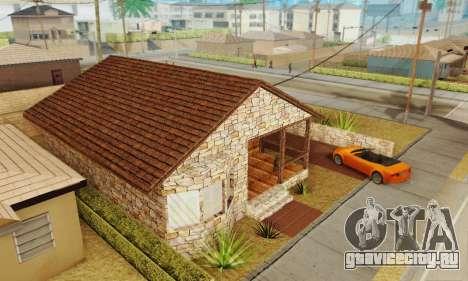 Новый дом Биг Смоука для GTA San Andreas третий скриншот