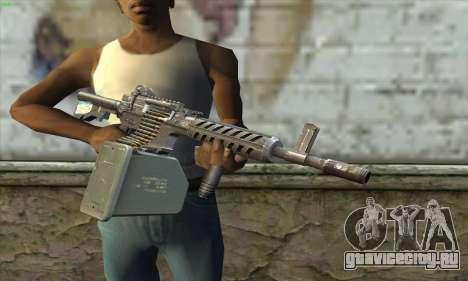 M4 Gunner для GTA San Andreas третий скриншот