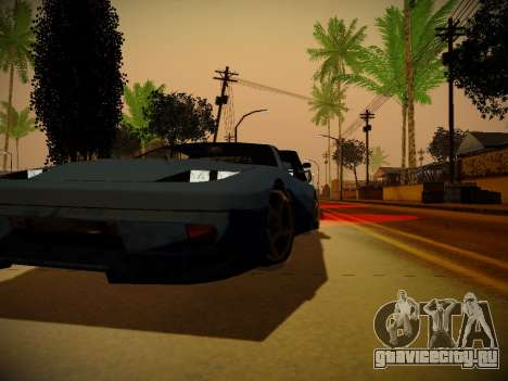 ENBSeries для слабых PC by Makar_SmW86 для GTA San Andreas четвёртый скриншот