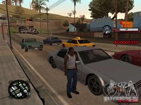 C-HUD Admins Team для GTA San Andreas второй скриншот