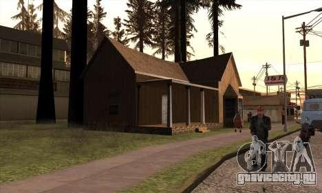 Новый дом Сиджея в Angel Pine для GTA San Andreas третий скриншот