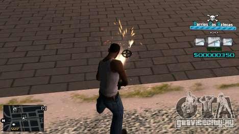 C-HUD RJ Aztecaz для GTA San Andreas третий скриншот