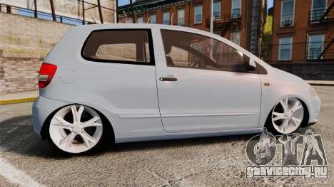 Volkswagen Fox для GTA 4 вид слева