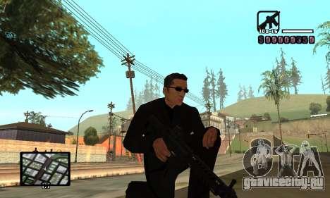 C-HUD by Miller для GTA San Andreas четвёртый скриншот