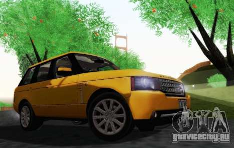 Range Rover Supercharged Series III для GTA San Andreas