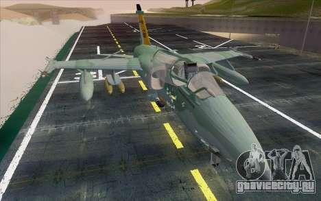 A-1M AMX для GTA San Andreas вид справа