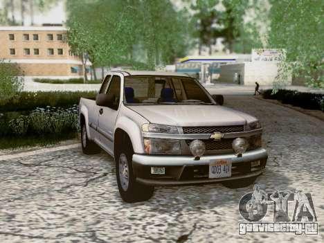 Chevrolet Colorado для GTA San Andreas