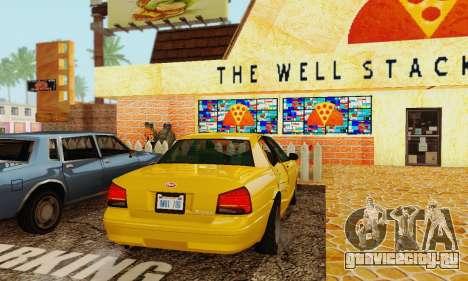 Vapid Stanier II 1.0 для GTA San Andreas вид изнутри