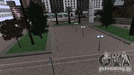 Новый парк для GTA San Andreas третий скриншот