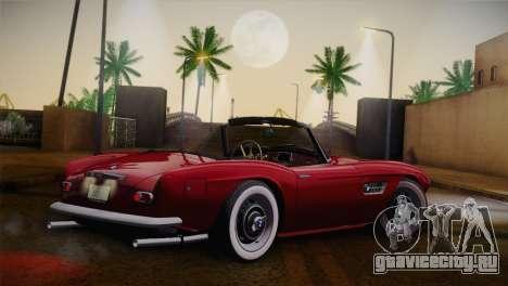 BMW 507 1959 Stock для GTA San Andreas вид слева