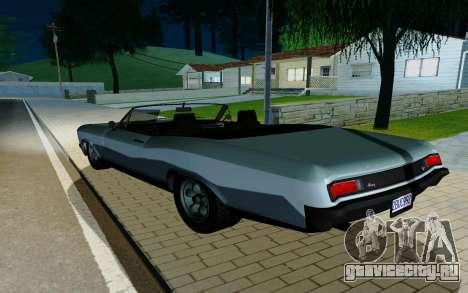 Albany Buccaneer из GTA 5 для GTA San Andreas вид слева