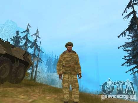 Пак русской армейской одежды для GTA San Andreas второй скриншот
